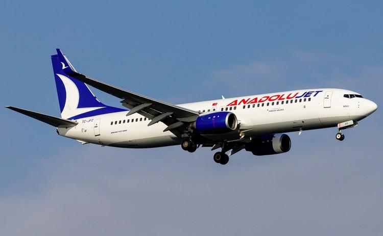 самолет AnadoluJet